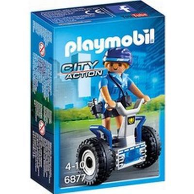 Playmobil Policewoman with Balance Racer 6877
