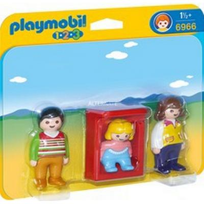 Playmobil Parents with Cot 6966