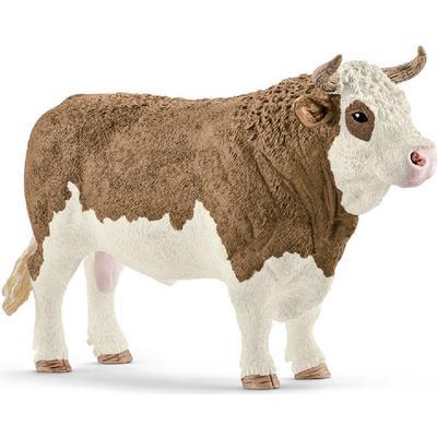 Schleich Fleckvieh Bull 13800