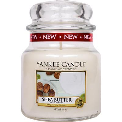 Yankee Candle Shea Butter 411g Doftljus