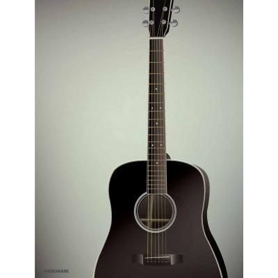 Vissevasse The Guitar 30x40cm Affisch