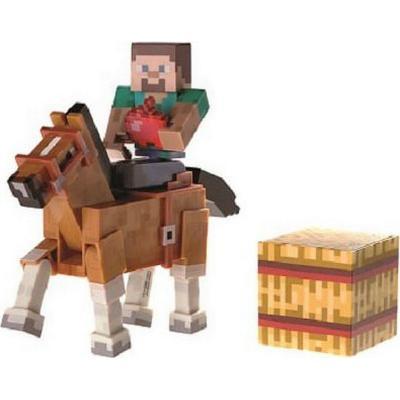 Jazwares Minecraft Steve   Chestnut Horse - Sammenlign priser hos ... 624ecae23012c