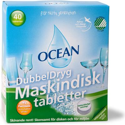 Ocean Maskindisktabletter 40-pack