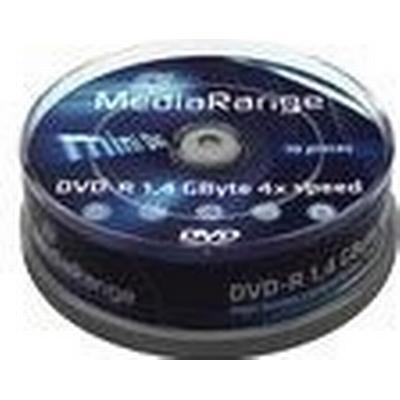 MediaRange DVD-R 1.4GB 4x Spindle 10-Pack 8cm