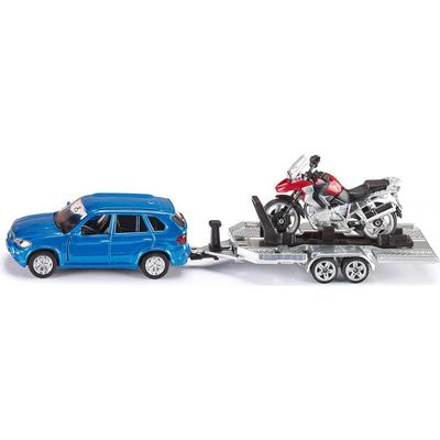 Siku Car with Trailer & Motorbike 2547