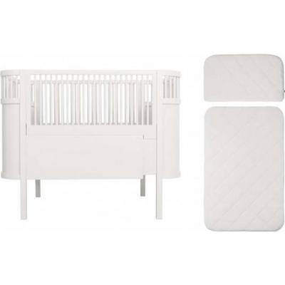 Sebra Baby & Junior Bed inkl madrass