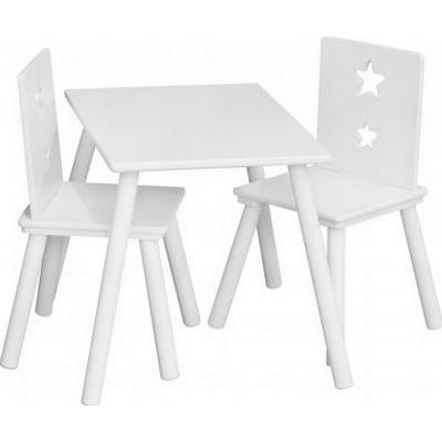 Kids Concept Star White Wooden Table