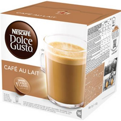 Nescafé Dolce Gusto Café Au Lait 16 kaffe kapslar