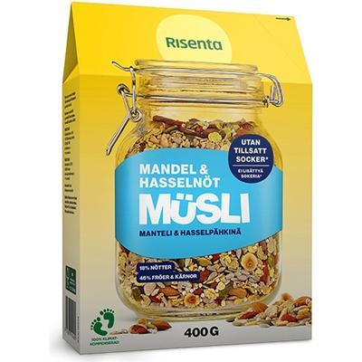 Risenta Müsli Mandel & Hasselnöt 400g