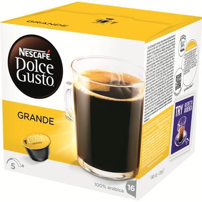 Nescafé Dolce Gusto Grande 16 kaffe kapslar