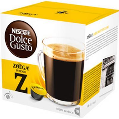 Nescafé Dolce Gusto Zoégas Intenzo 8 kaffe kapslar