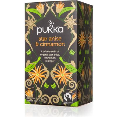 Pukka Star Anise & Cinnamon 20 Tepåsar