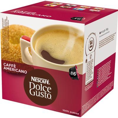 Nescafé Dolce Gusto Americano 16 Kaffe Kapsel