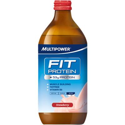 Multipower Fit Protein jordgubbe 500ml