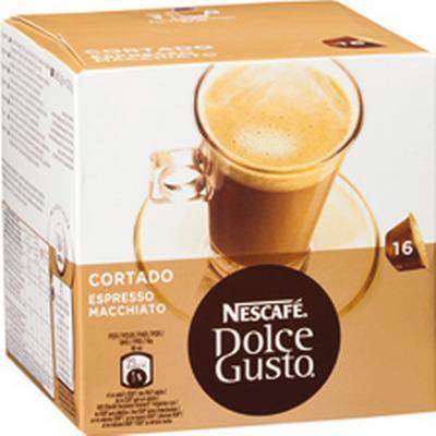 Nescafé Dolce Gusto Espresso Macchiato cortado 8 kaffe Kapsel