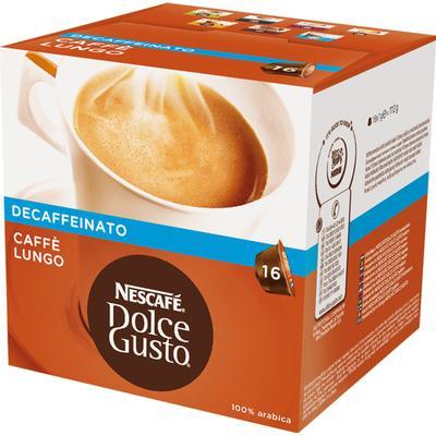 Nescafé Dolce Gusto Lungo Decaf 16 kaffe Kapsel