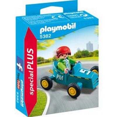Playmobil Boy with Go Kart 5382