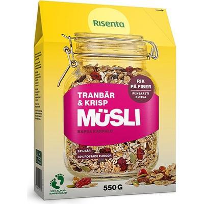Risenta Müsli Tranbär Krisp 550g