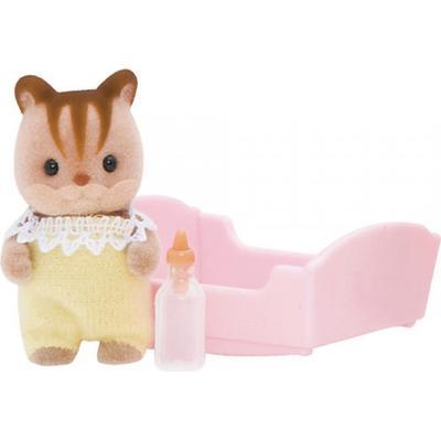 Sylvanian Families Walnut Squirrel Baby