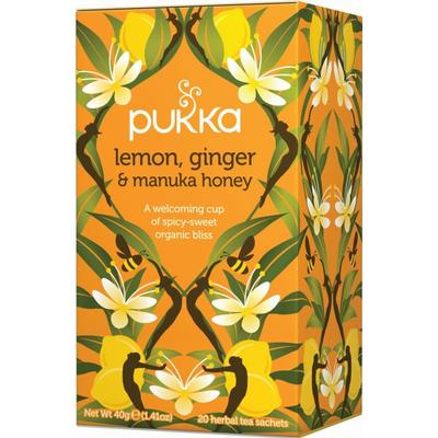 Pukka Lemon, Ginger & Manuka Honey 20 Tepåsar