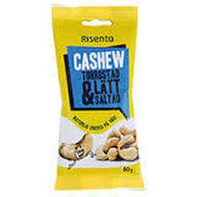 Risenta Cashewnötter Torrostade Lättsaltade 60g