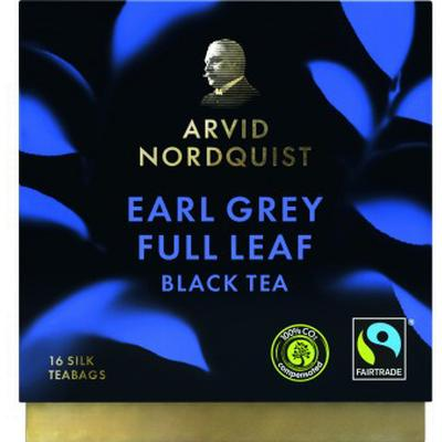Arvid Nordquist Earl Grey Full Leaf 16 Tepåsar