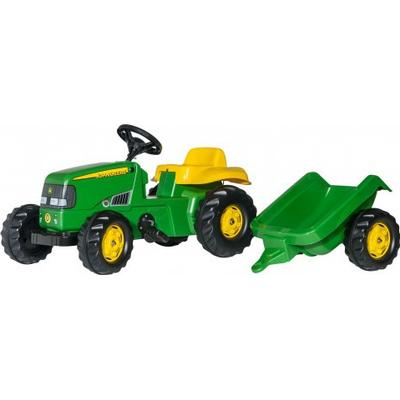 Rolly Toys Rolly Kid John Deere Tractor & Trailer
