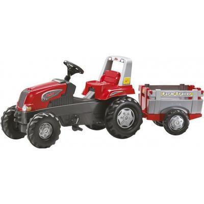 Rolly Toys Junior RT Tractor & Farm Trailer