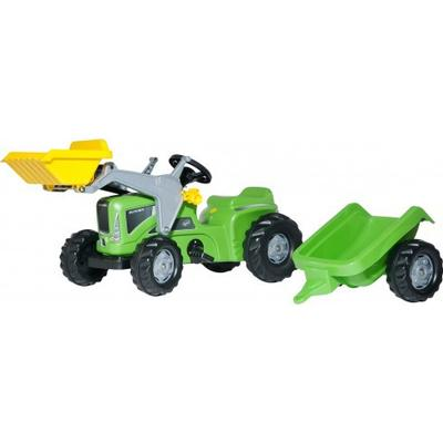 Rolly Toys Futura Tractor with Trailer & Frontloader