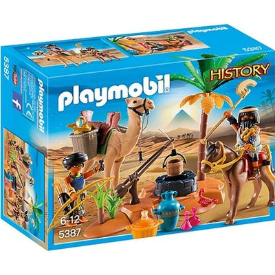 Playmobil Tomb Raiders Camp 5387