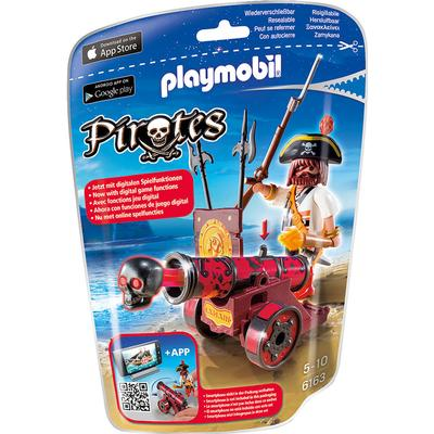Playmobil Interactive Cannon with Buccaneer 6163