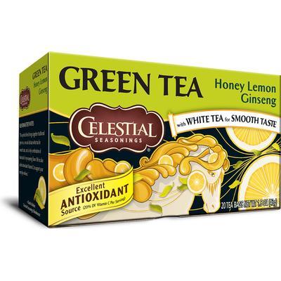 Celestial Green Tea Honey Lemon Ginseng 20 Tepåsar20-pack