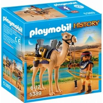 Playmobil Egyptian Warrior with Camel 5389