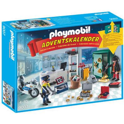 Playmobil Advent Calender Jewel Thief Police Operation 9007