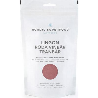Nordic Superfood Lingon, tranbär och röda vinbär 175g
