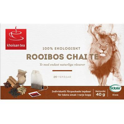 Khoisan Rooiboste Chai 20 Tepåsar