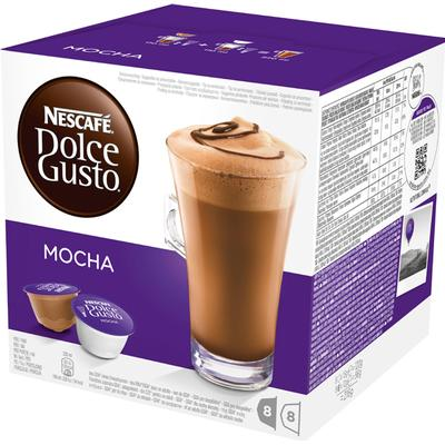 Nescafé Dolce Gusto Mocka 8 Choklad Kapslar