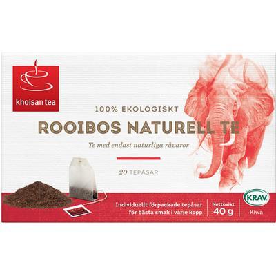 Khoisan Rooiboste Naturell 20 Tepåsar