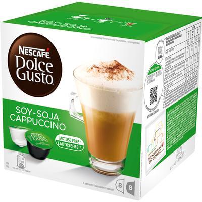 Dolce Gusto Soja Cappuccino 8 kaffe kapslar