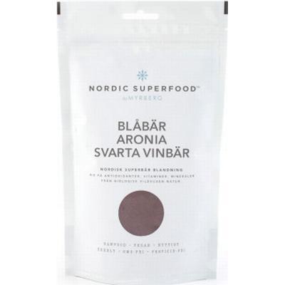 Nordic Superfood Blåbär Aronia Svarta vinbär 175g