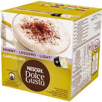 Nescafé Dolce Gusto Skinny Cappuccino 8 kaffe kapslar