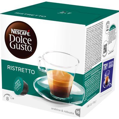 Nescafé Dolce Gusto Ristretto 16 kaffe kapslar