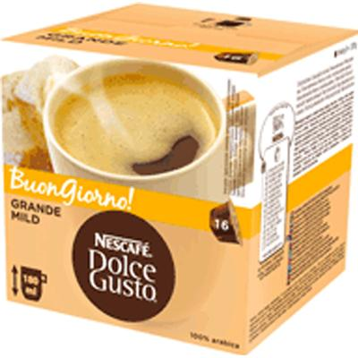 Nescafé Dolce Gusto Grande Mild 16 kaffe kapslar