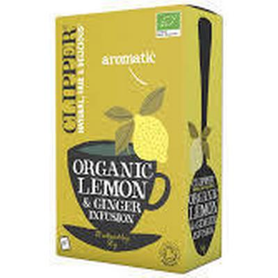 Clipper Organiska Lemon & Ginger Tea 20 påsar
