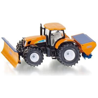 Siku Tractor with Ploughing Plate & Salt Spreader 2940