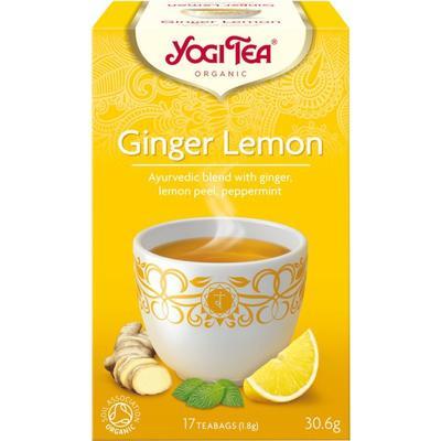 Yogi Tea Ginger Lemon 17 Tepåsar