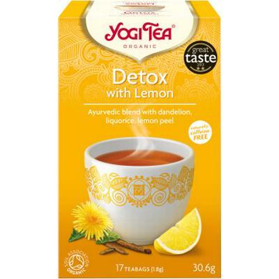 Yogi Tea Detox With Lemon 17 Tepåsar