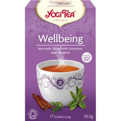 Yogi Tea Wellbeing 17 Tepåsar
