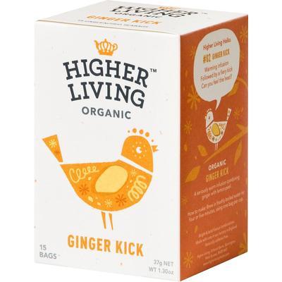 Higher Living Ginger Kick 15 Tepåsar