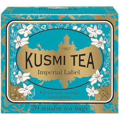 Kusmi Tea Imperial Label 20 Tepåsar